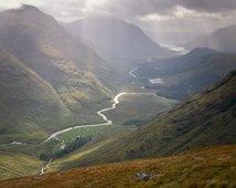 Glen Etive from Stob Dubh I