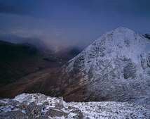 Stob na Doire, Approaching Snow Storm thumbnail