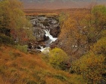 River Coupal Waterfall in Autumn thumbnail
